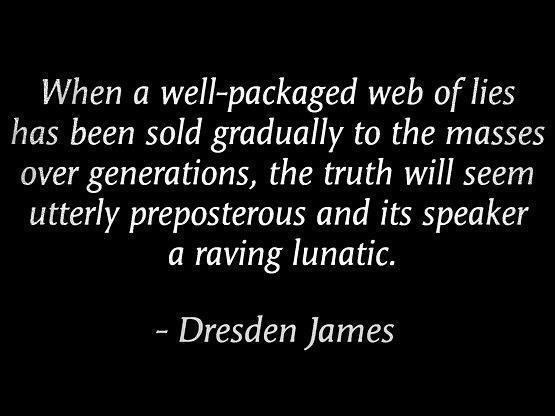 web of lies dresden james